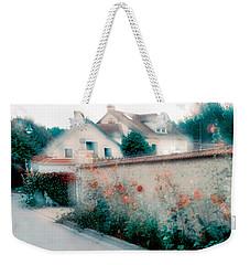 Street In Giverny, France Weekender Tote Bag
