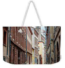 Weekender Tote Bag featuring the photograph Street In Toulouse by Elena Elisseeva