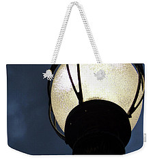 Street Lamp At Night Weekender Tote Bag