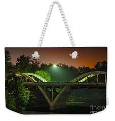 Street Light On Rogue River Bridge Weekender Tote Bag