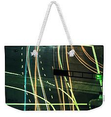 Street Lights Weekender Tote Bag