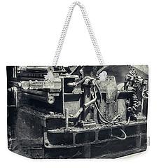 Street Paver Weekender Tote Bag