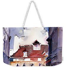 Parisian Stroll Weekender Tote Bag