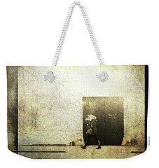 Street Photography - Closed Door Weekender Tote Bag by Siegfried Ferlin