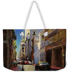 Street Scene In Buenos Aires Weekender Tote Bag