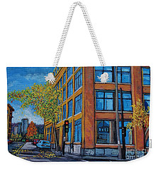 Street Study Montreal Weekender Tote Bag by Reb Frost