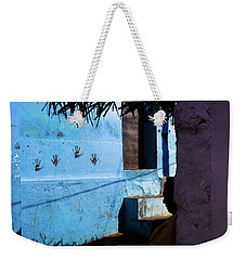 Streetcorner, Kanyakumari Weekender Tote Bag