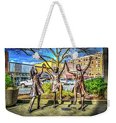 Weekender Tote Bag featuring the photograph Streets Of Everett by Spencer McDonald