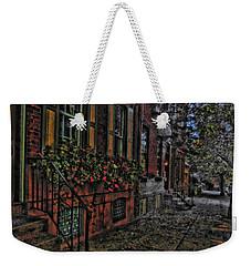 Streets Of Fairmont Weekender Tote Bag
