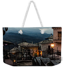 Streets Of Italy - Caramanico 3 Weekender Tote Bag by Andrea Mazzocchetti