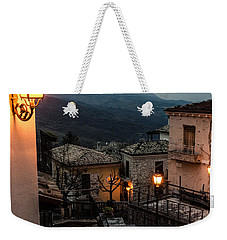 Streets Of Italy - Caramanico Weekender Tote Bag by Andrea Mazzocchetti