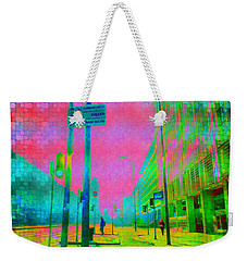 Streets Of Milan Weekender Tote Bag