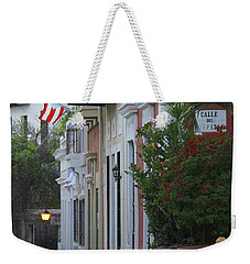 Streets Of Old San Juan Weekender Tote Bag
