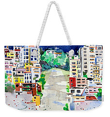 Streets Of San Francsico Weekender Tote Bag