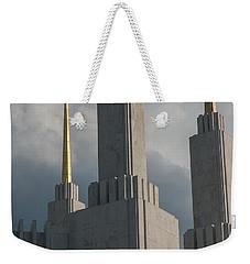 Strength And Power Weekender Tote Bag