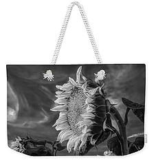 Strength Of A Sunflower Weekender Tote Bag