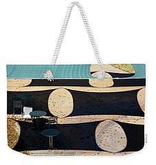 Stretched Canvas Weekender Tote Bag