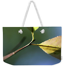 Stretching Weekender Tote Bag by Mary Bedy