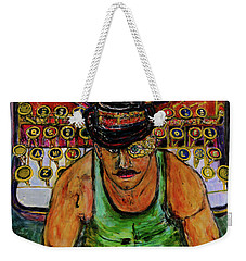 Strife  Weekender Tote Bag by Lindsay Strubbe