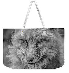 Striking A Pose Black And White Weekender Tote Bag