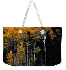 Striking Gold Weekender Tote Bag