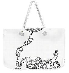 String Energy 2 Weekender Tote Bag