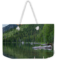 String Lake Weekender Tote Bag by Tim Fitzharris