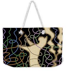 String Theory Weekender Tote Bag