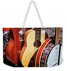 Strings Attached Weekender Tote Bag