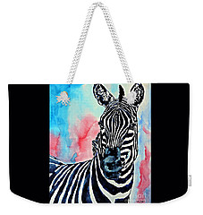 Stripes And A Mohawk Weekender Tote Bag