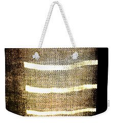 Weekender Tote Bag featuring the photograph Stripes And Texture by Todd Blanchard