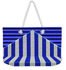 Weekender Tote Bag featuring the photograph Stripes by Paul Wear