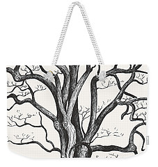 Stripped Bare Weekender Tote Bag
