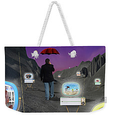 Weekender Tote Bag featuring the photograph Strolling Down Memory Lane by Mike McGlothlen