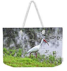 Strolling Ibis Weekender Tote Bag by Carol Groenen