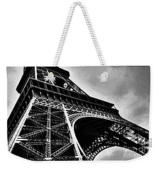Weekender Tote Bag featuring the photograph Strong As Steel In Paris by Mel Steinhauer