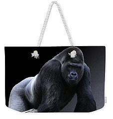 Strong Male Gorilla Weekender Tote Bag