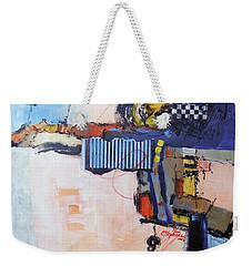 Structured Weekender Tote Bag