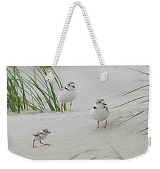Struggle In The Blowing Sand Weekender Tote Bag