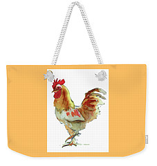 Weekender Tote Bag featuring the painting Strut Your Stuff 4 by Kathy Braud