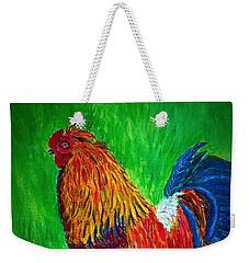 Strutting  Batam Rooster Weekender Tote Bag