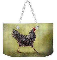 Strutting That Stuff Weekender Tote Bag