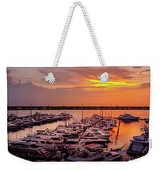 Stuart Sunset Weekender Tote Bag