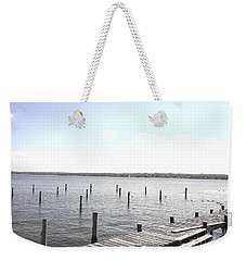 Stubs In Water Weekender Tote Bag