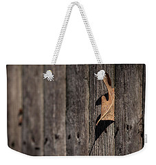 Weekender Tote Bag featuring the photograph Stuck by Karol Livote