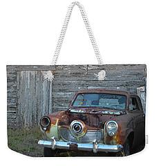 Studebaker Sitting Weekender Tote Bag