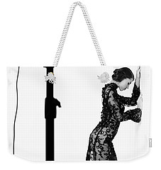 Weekender Tote Bag featuring the photograph Studio by Andrey  Godyaykin
