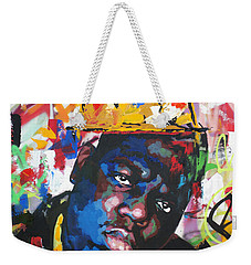 Biggie Smalls Weekender Tote Bag