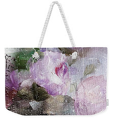 Studio313 Roses And Rain Weekender Tote Bag