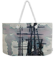Study For Sailing Vessel Pandora Weekender Tote Bag